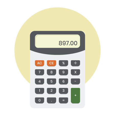 animated handheld calculator image